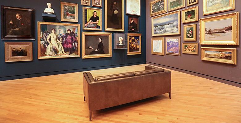 sala di un museo che ospita mostre autunno 2021